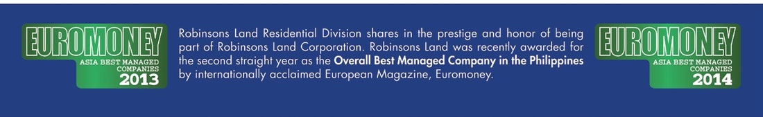 EuroMoney Philippines Overall Best Managed Company is Robinsons Land Corporation